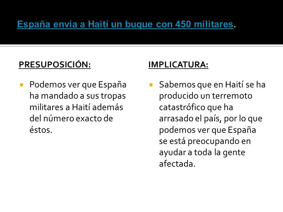 España envía a Haití un buque con 450 militares.