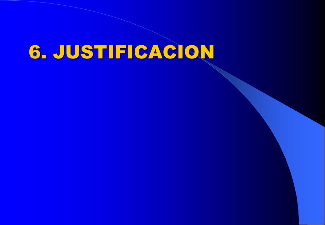 6. JUSTIFICACION