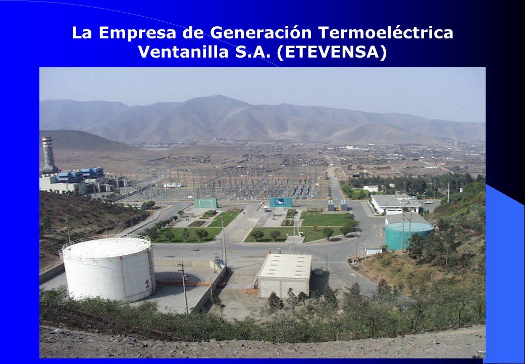 La Empresa de Generación Termoeléctrica Ventanilla S.A. (ETEVENSA)