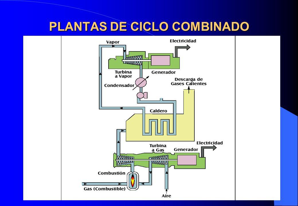 PLANTAS DE CICLO COMBINADO