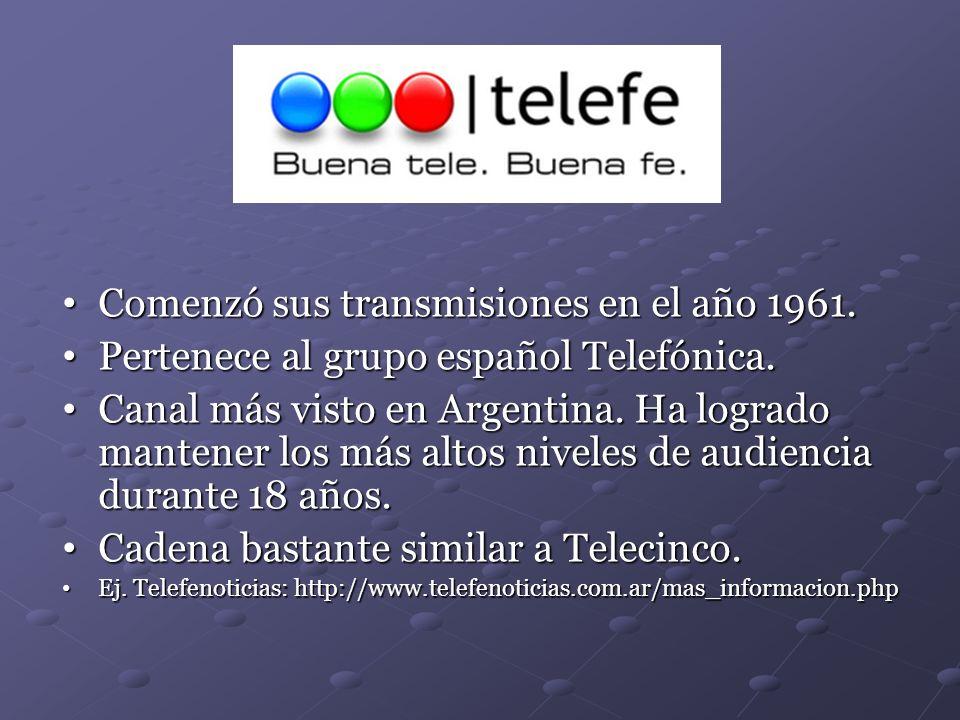 Comenzó sus transmisiones en el año 1961.