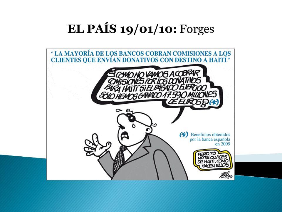 EL PAÍS 19/01/10: Forges