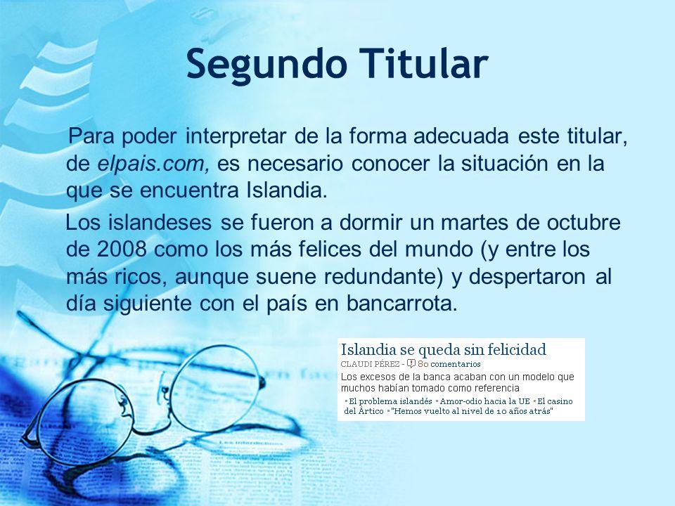 Segundo Titular