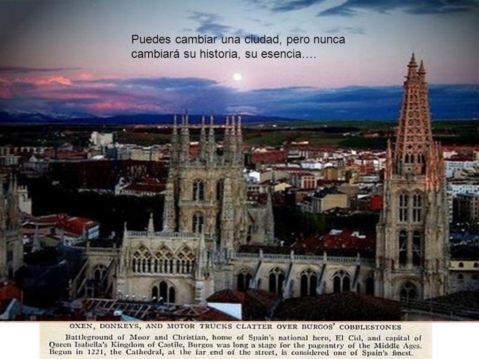 Y cómo no…..ANTES….Puedes cambiar una ciudad, pero nunca cambiará su historia, su esencia….