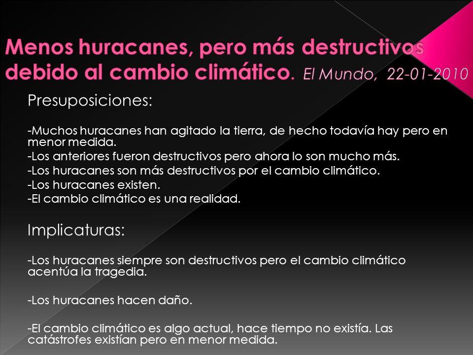 Menos huracanes, pero más destructivos debido al cambio climático
