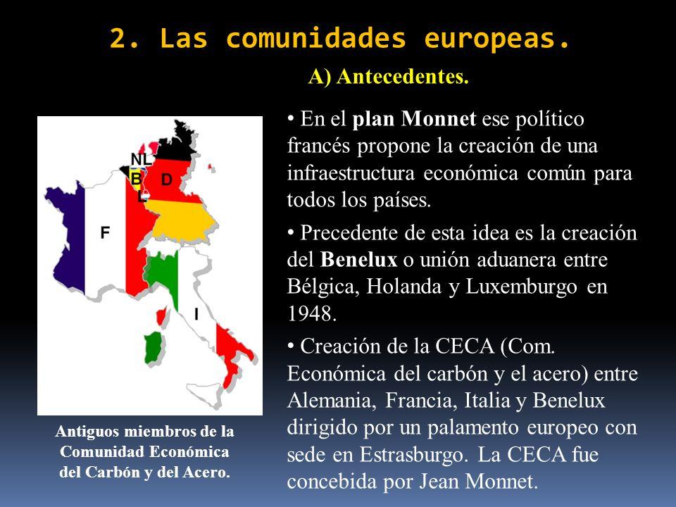 2. Las comunidades europeas.