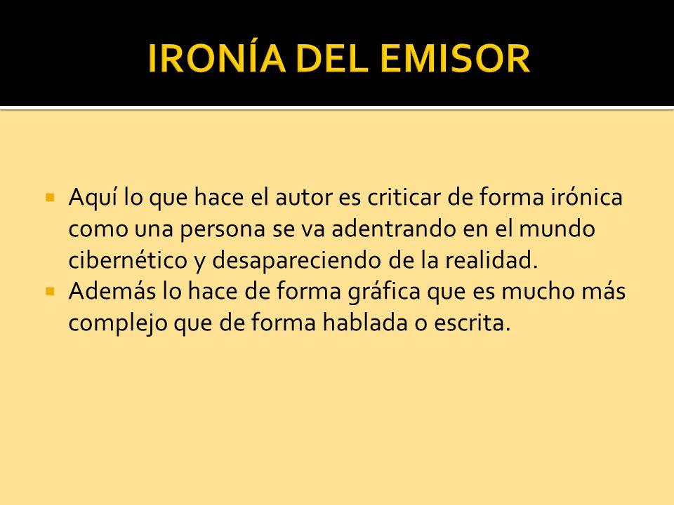 IRONÍA DEL EMISOR