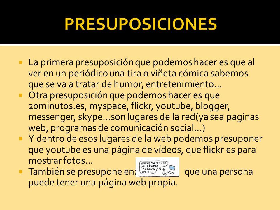 PRESUPOSICIONES