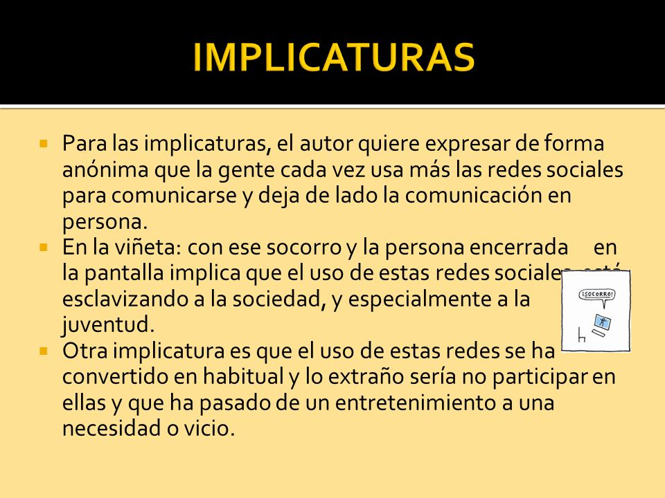 IMPLICATURAS