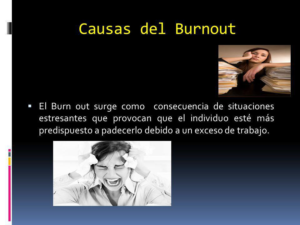Causas del Burnout
