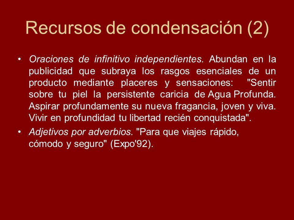 Recursos de condensación (2)
