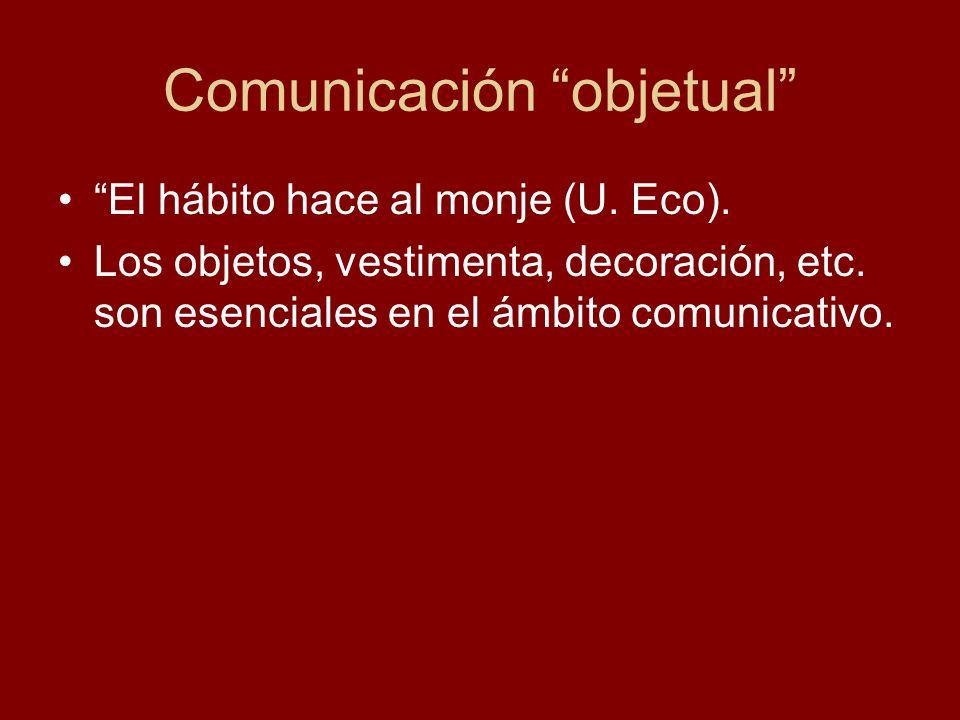Comunicación objetual