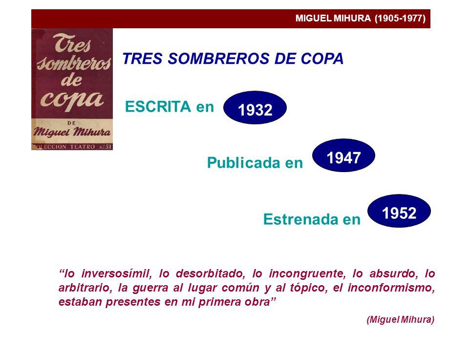 1932 1947 1952 TRES SOMBREROS DE COPA ESCRITA en Publicada en