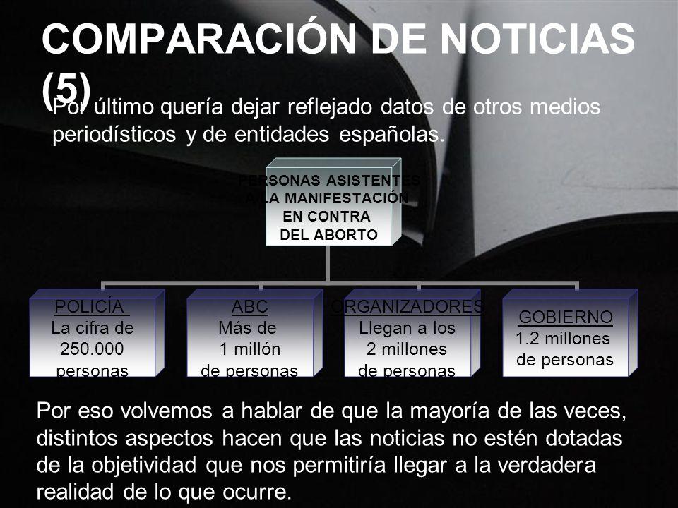 COMPARACIÓN DE NOTICIAS (5)