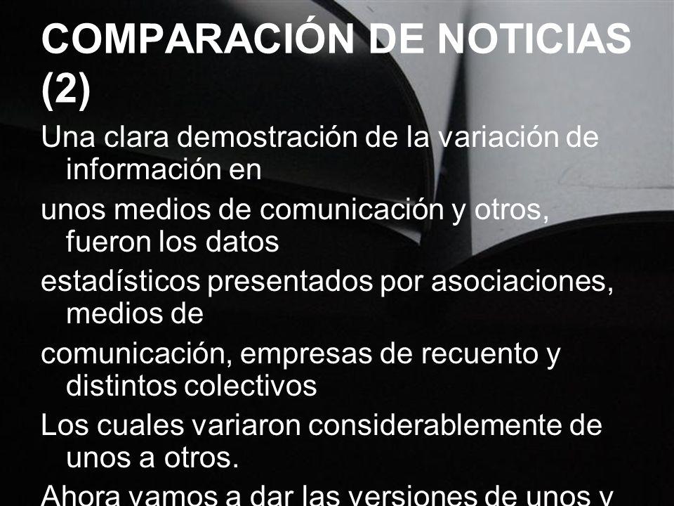 COMPARACIÓN DE NOTICIAS (2)