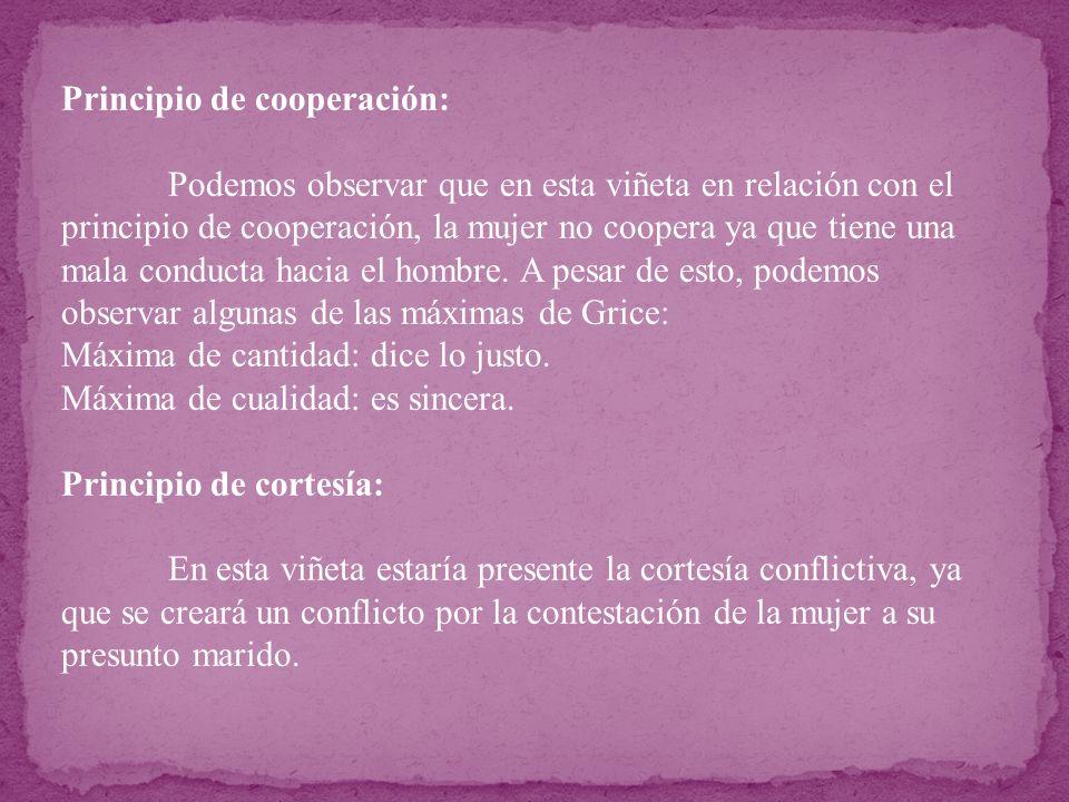 Principio de cooperación: