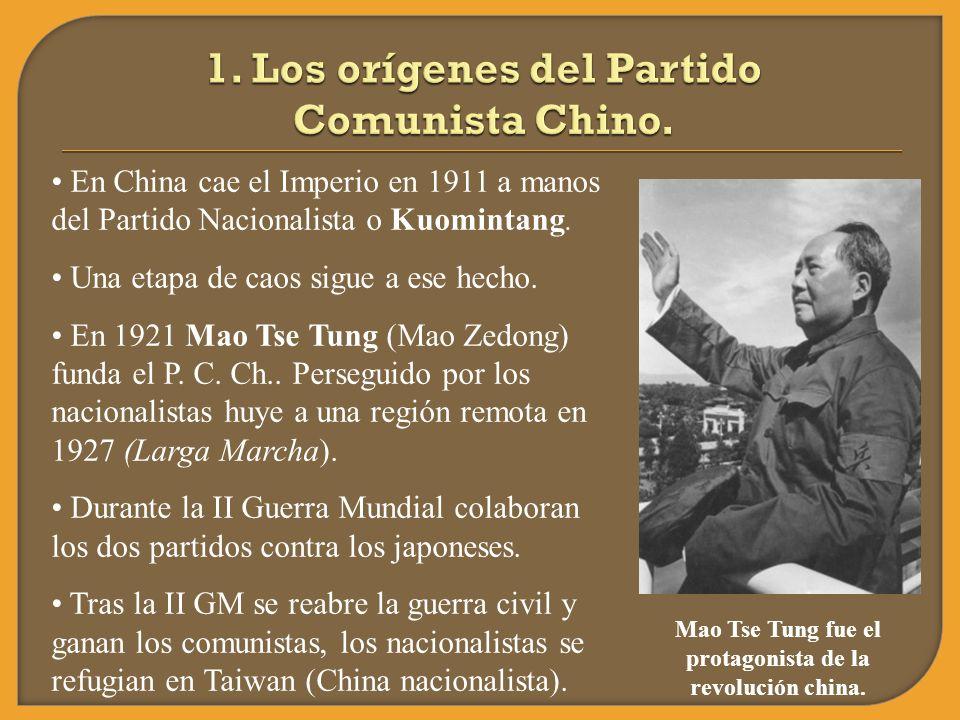 1. Los orígenes del Partido Comunista Chino.