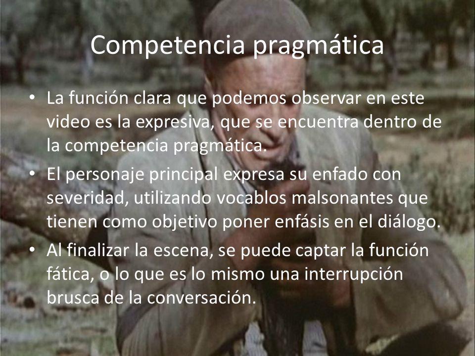 Competencia pragmática