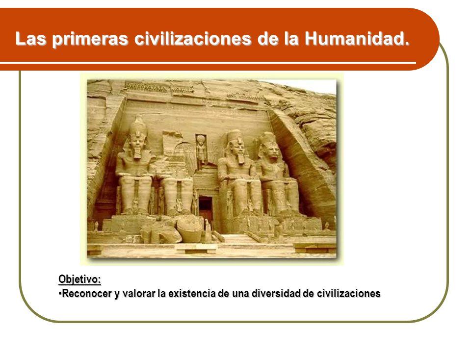 Las primeras civilizaciones de la Humanidad.