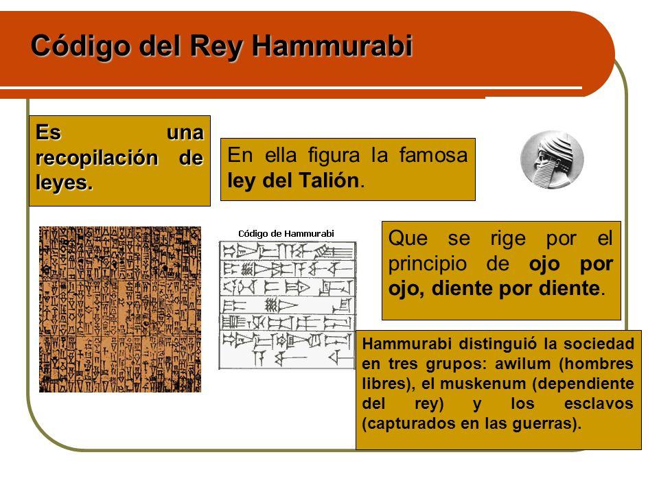 Código del Rey Hammurabi