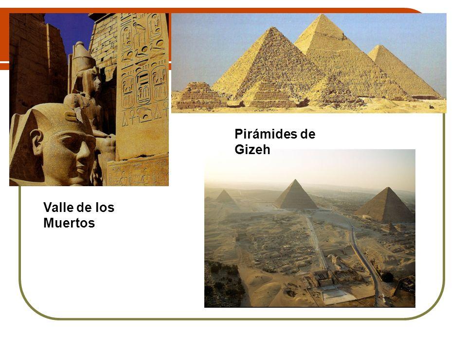 Pirámides de Gizeh Valle de los Muertos