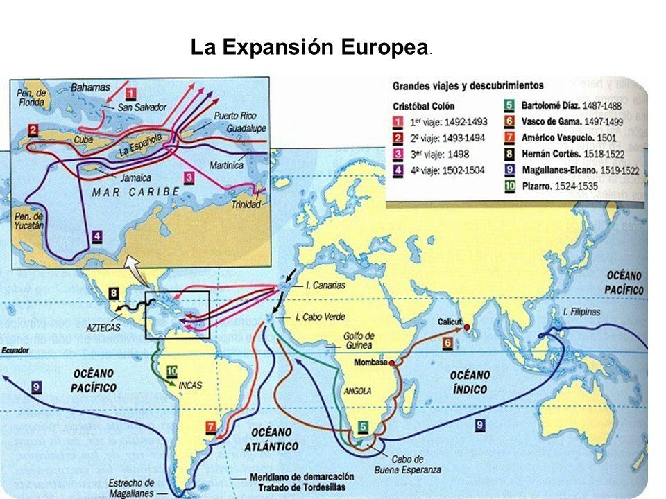 La Expansión Europea.