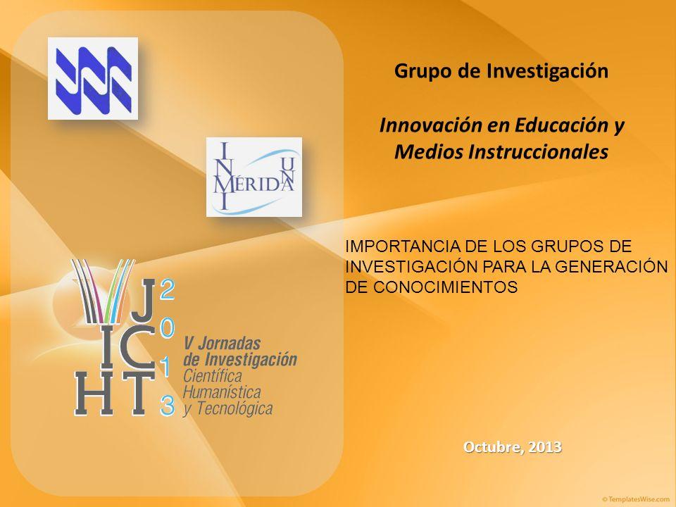 Grupo de Investigación Innovación en Educación y Medios Instruccionales