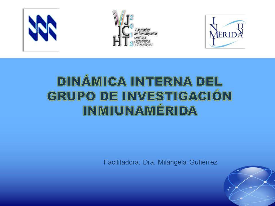 DINÁMICA INTERNA DEL GRUPO DE INVESTIGACIÓN