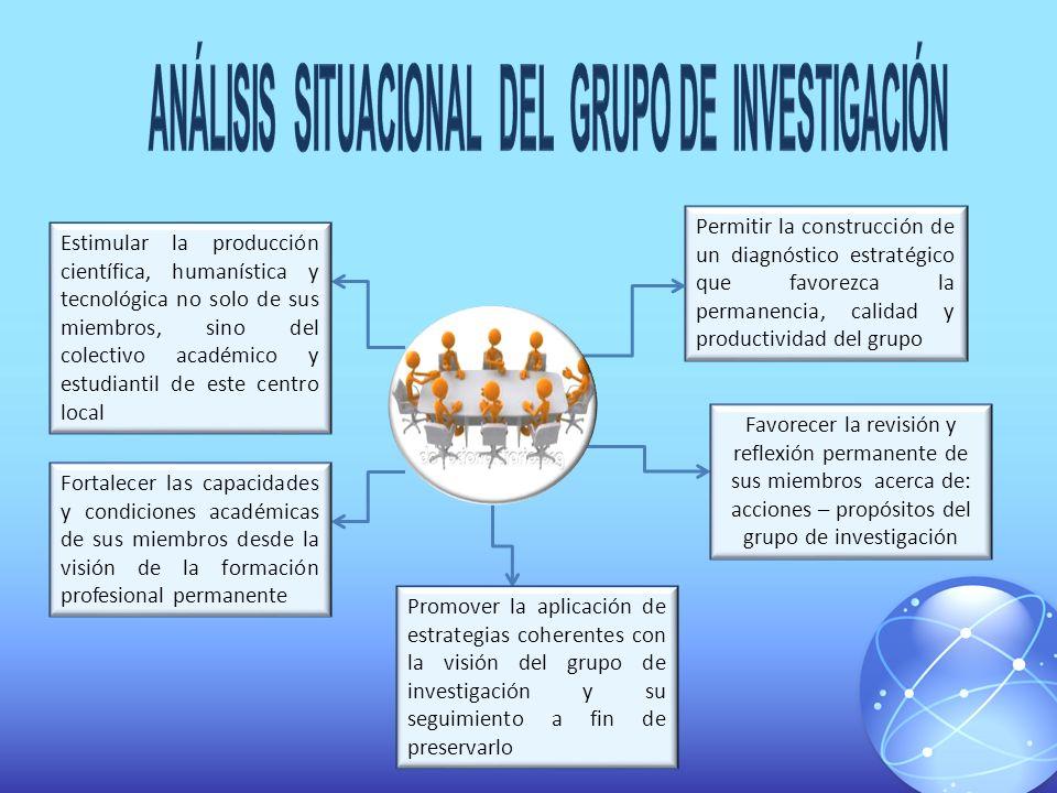 ANÁLISIS SITUACIONAL DEL GRUPO DE INVESTIGACIÓN