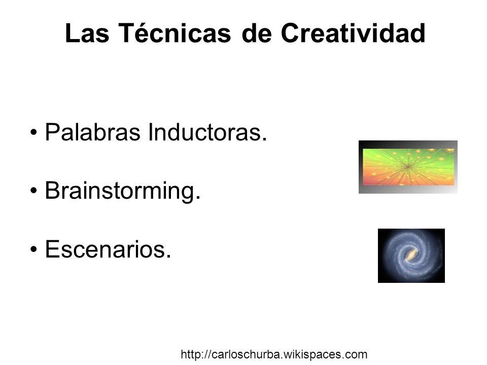 Las Técnicas de Creatividad