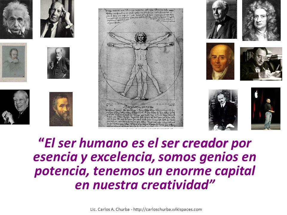 en nuestra creatividad