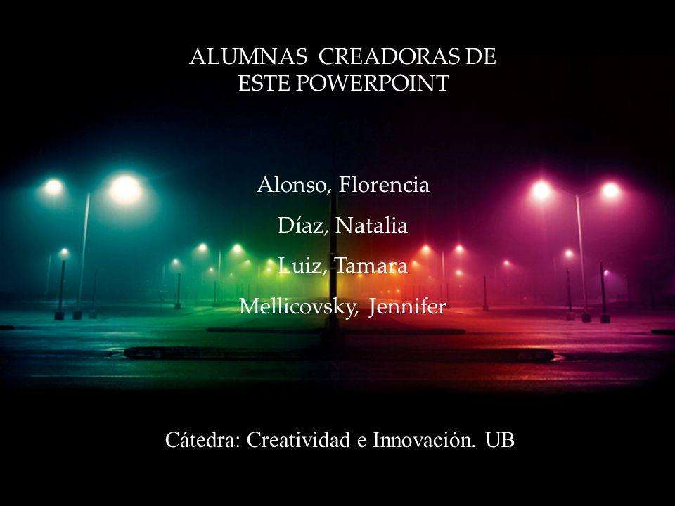 ALUMNAS CREADORAS DE ESTE POWERPOINT