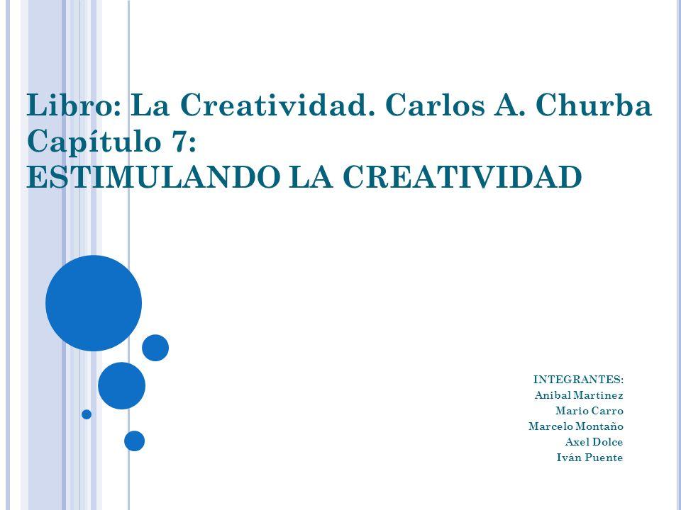Libro: La Creatividad. Carlos A