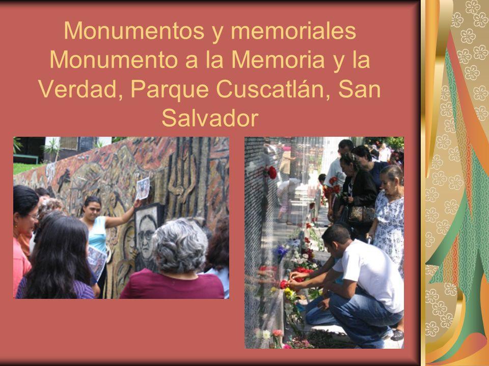 Monumentos y memoriales Monumento a la Memoria y la Verdad, Parque Cuscatlán, San Salvador