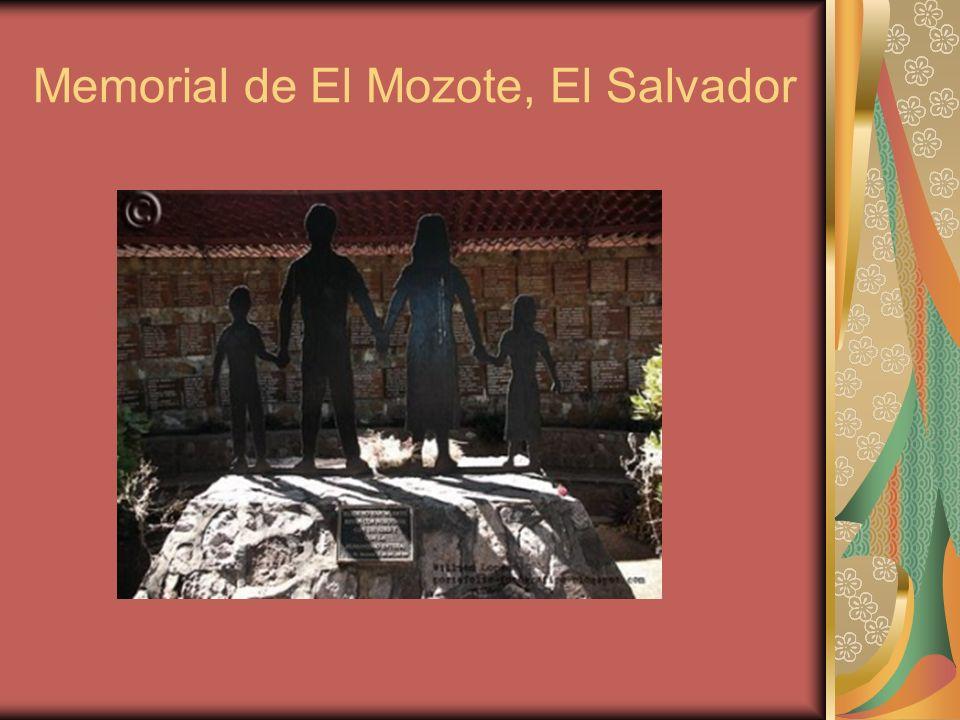 Memorial de El Mozote, El Salvador