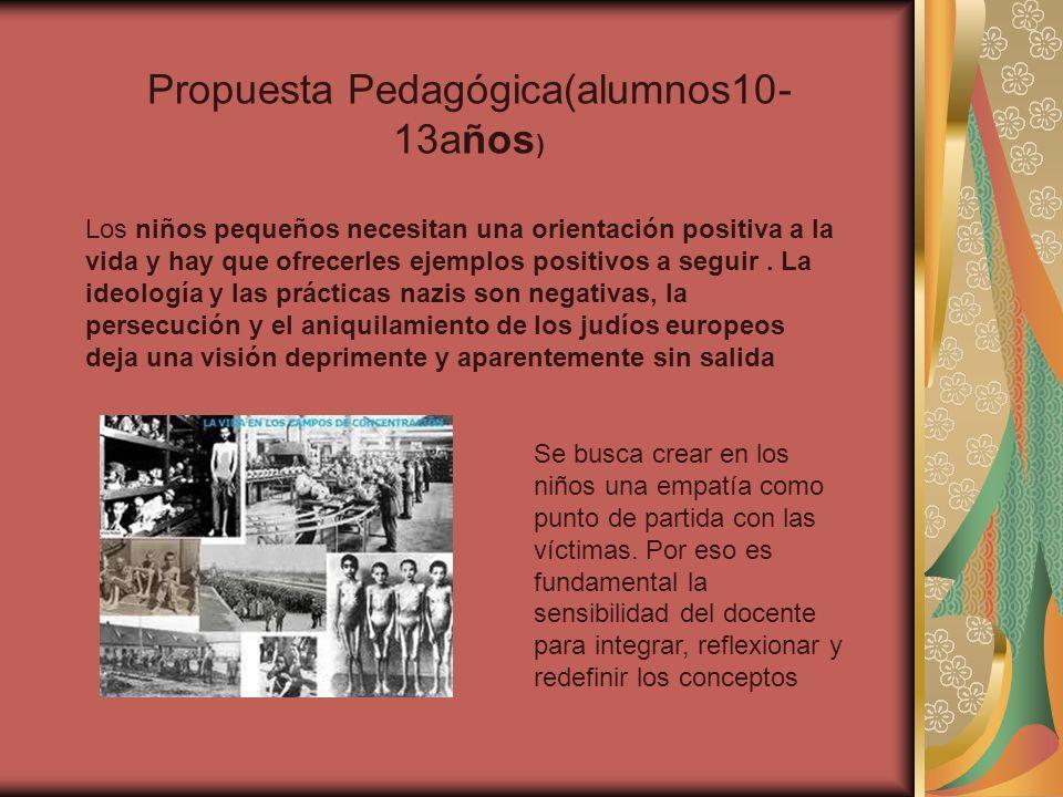 Propuesta Pedagógica(alumnos10-13años)