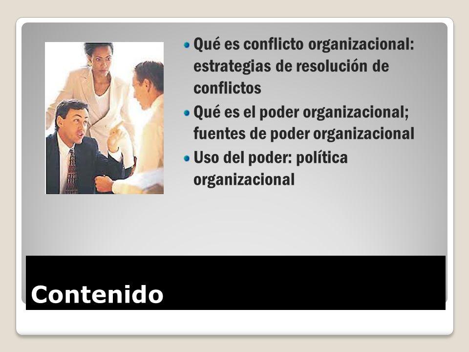 Qué es conflicto organizacional: estrategias de resolución de conflictos