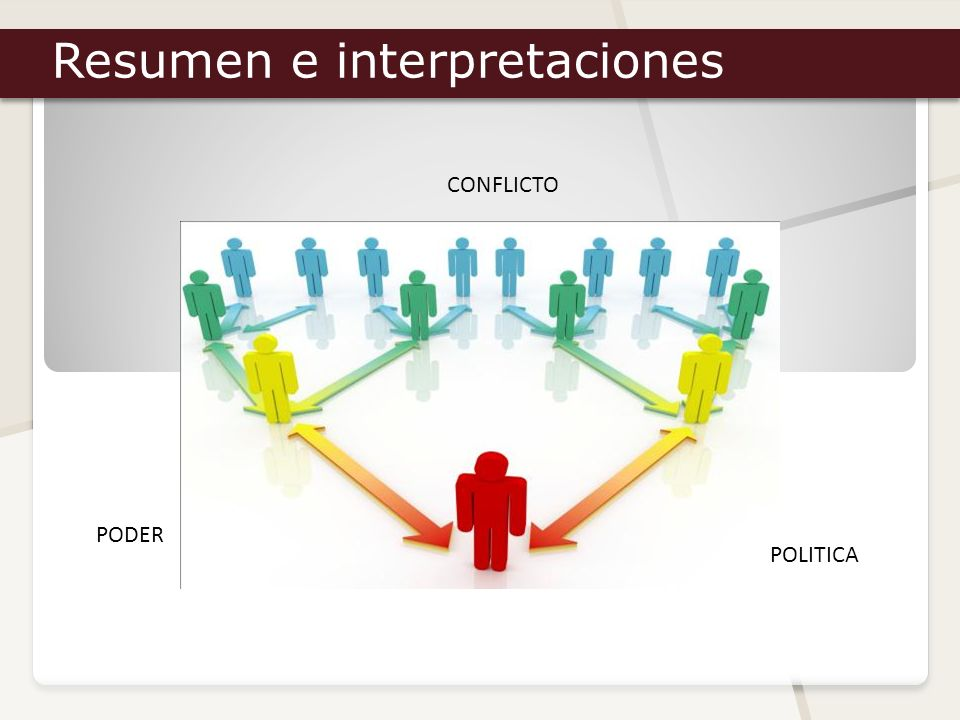 Resumen e interpretaciones