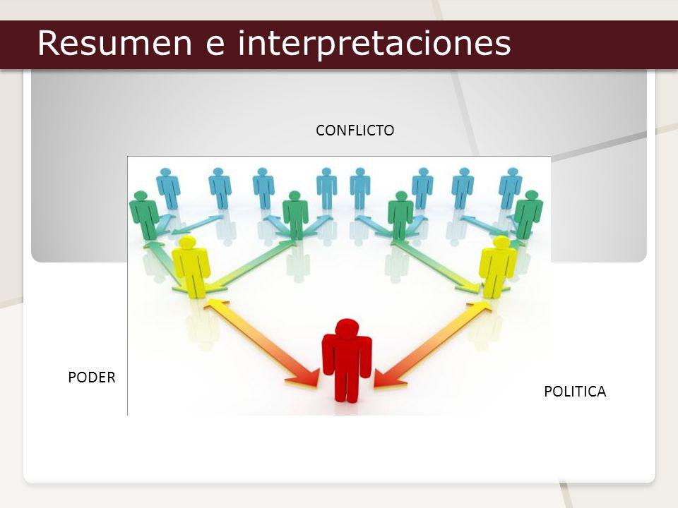 Resumen e interpretaciones