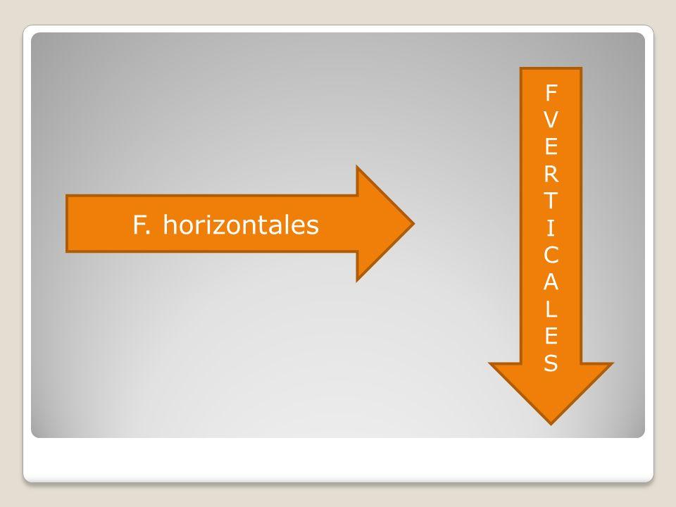 F V E R T I C A L S F. horizontales