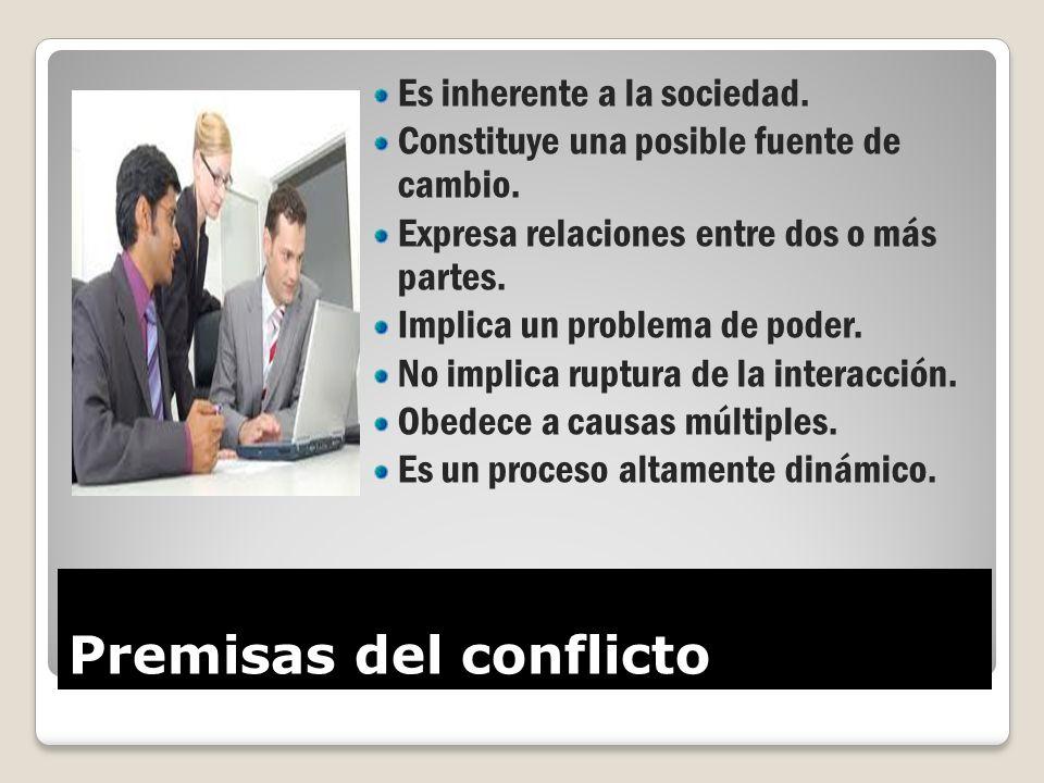 Premisas del conflicto