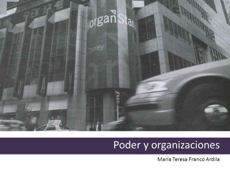 Poder y organizaciones