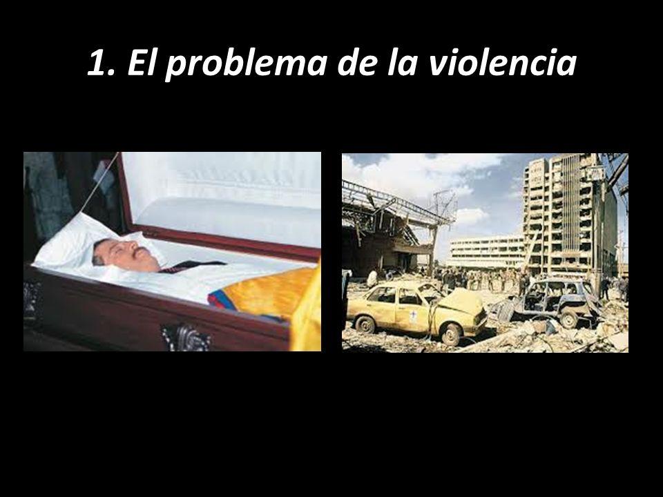 1. El problema de la violencia