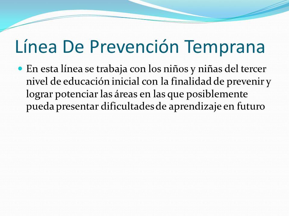 Línea De Prevención Temprana