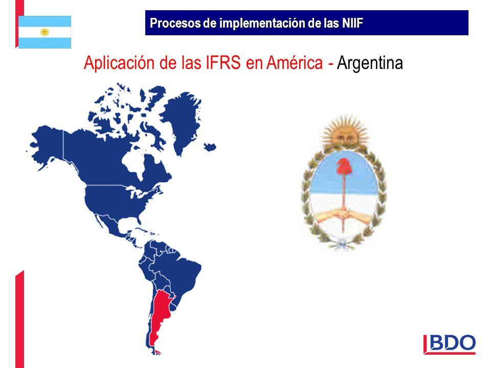 Aplicación de las IFRS en América - Argentina