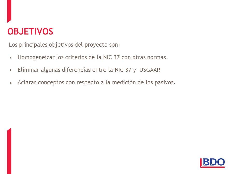 OBJETIVOS Los principales objetivos del proyecto son: