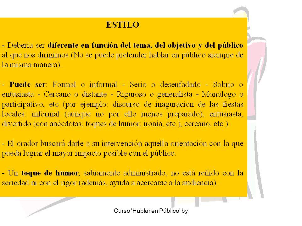 Curso Hablar en Público by