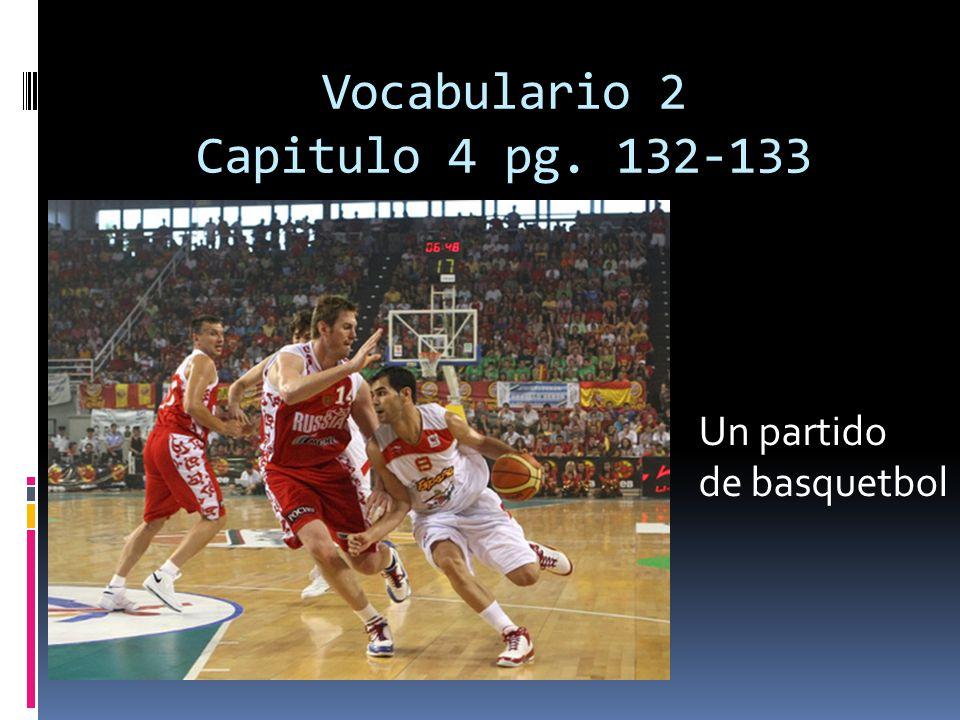 Vocabulario 2 Capitulo 4 pg. 132-133