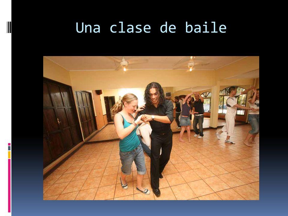 Una clase de baile