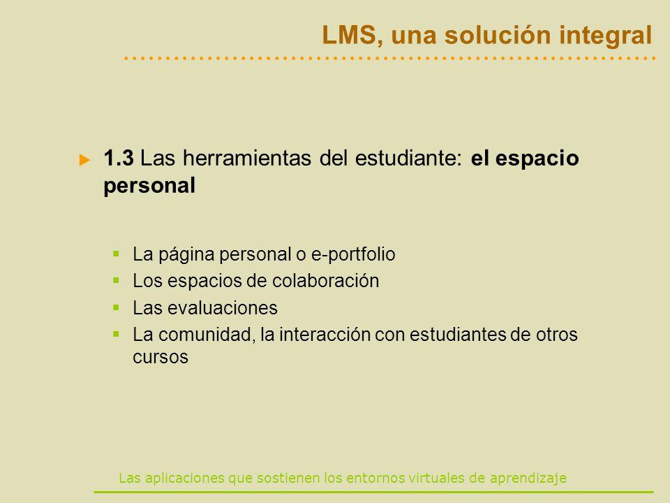 LMS, una solución integral